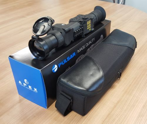DEMO Pulsar Apex XD75 Thermal Weapon Scope